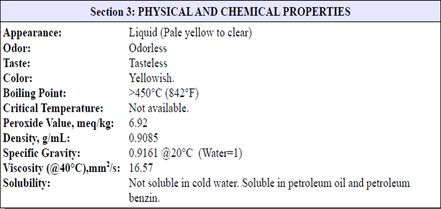now12 msds physical and chemical properties